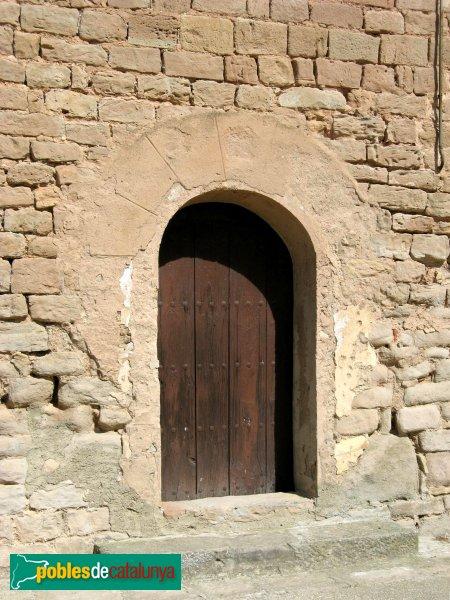 Veciana - Sant Pere del Vim, porta