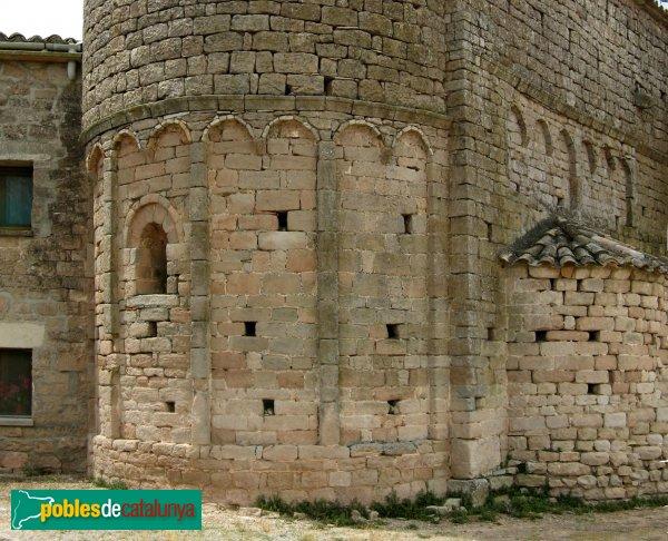 Veciana - Sant Pere del Vim, absis