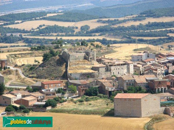 Calaf - Castell, després de la restauració