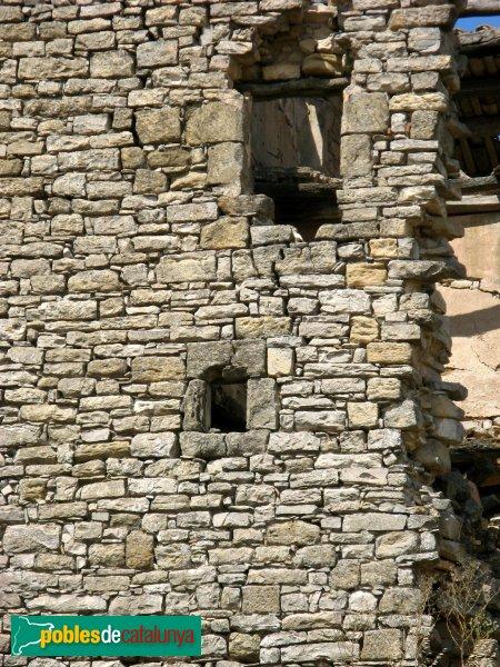 Calaf - Ferrera,detall finestres