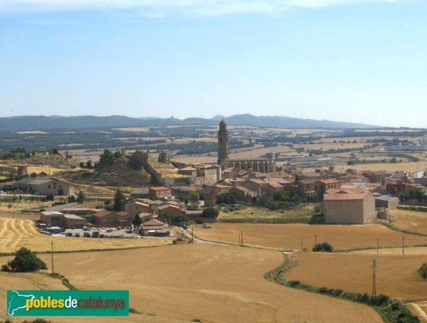 Calaf - Església de Sant Jaume i castell