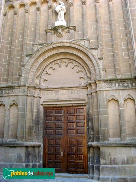 Calaf - Església de Sant Jaume, portada