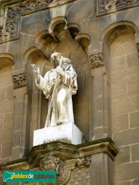 Calaf - Església de Sant Jaume, imatge del sant