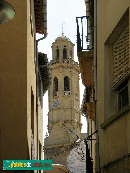 Calaf - Església de Sant Jaume, campanar