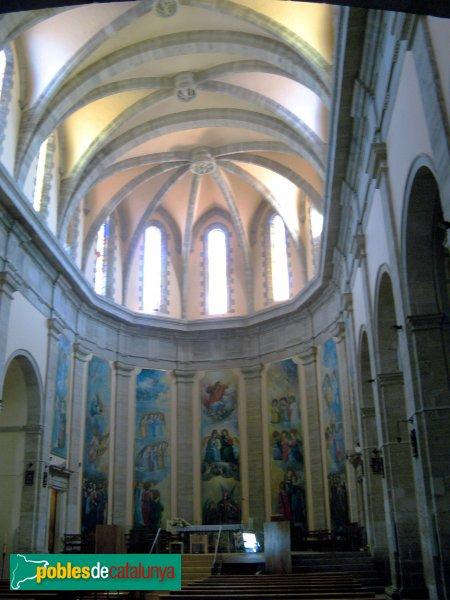 Calaf - Església de Sant Jaume , interior