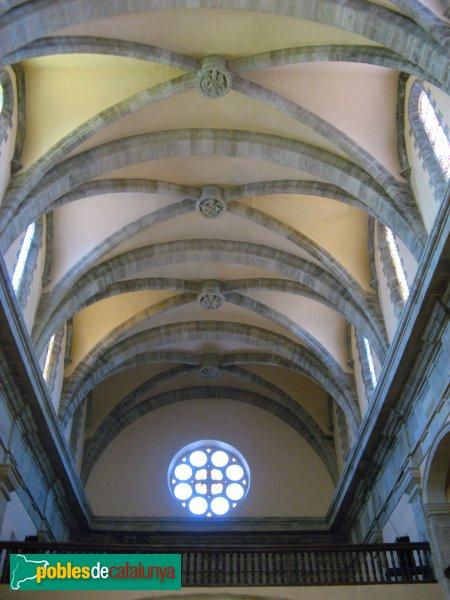 Calaf - Església de Sant Jaume, voltes