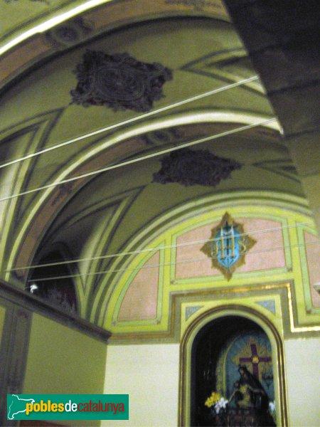 Calaf - Església de Sant Jaume, capella