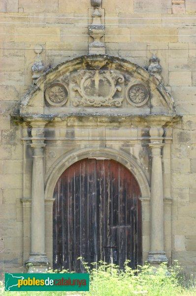 Calaf - Convent de Sant Francesc, portal