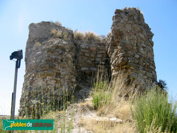 Castellfollit de Riubregós - Castell, torre mestra