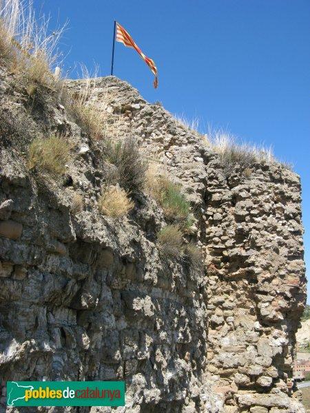 Castellfollit de Riubregós - Castell, recinte jussà