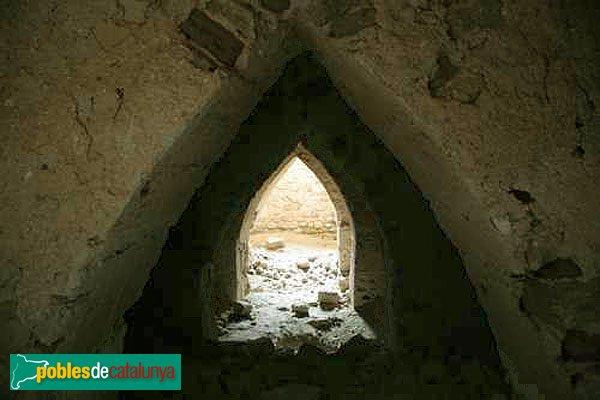 Castellfollit de Riubregós - Castell, detall