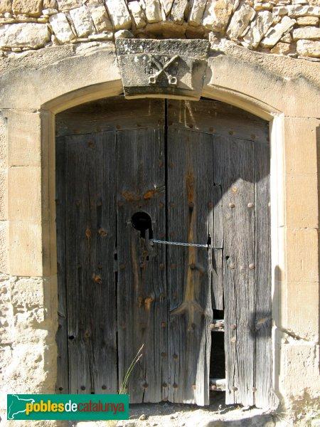 Castellfollit de Riubregós - Sant Pere de Magrà, porta