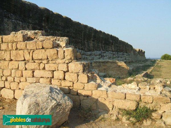 Empúries - Muralla romana