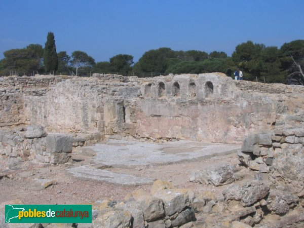Empúries - Basílica paleocristiana