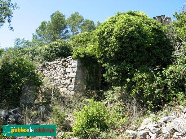 Argençola - Sant Pere de la Goda, restes d'una casa