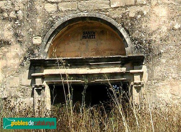 Argençola - Sant Martí d'Albarells, porta