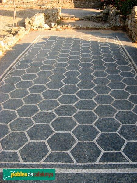Empúries - Mosaic romà