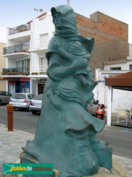 L'Escala - Monument a la Dona del Pescador