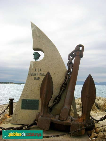L'Escala - Monument a la Gent del Mar