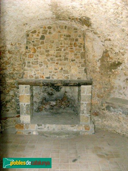 L'Escala - Torre del Pedró, interior