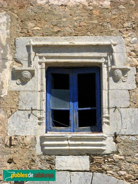 L'Escala - Can Gepot, finestra