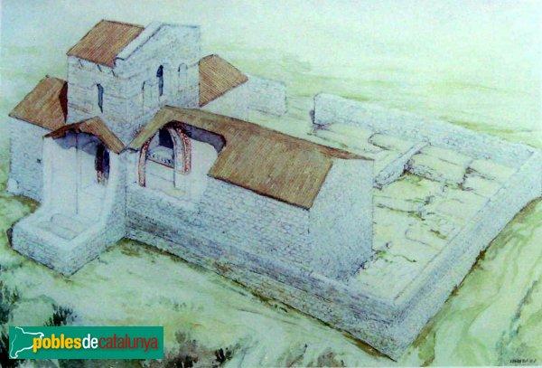 L'Escala - Santa Magdalena, recreació