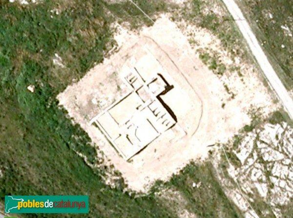 L'Escala - Santa Magdalena, vista aèria