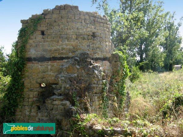 L'Escala - Restes de Sant Vicenç (Les Corts)