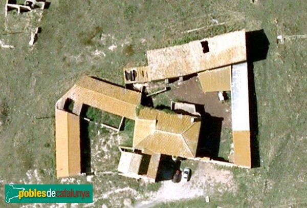 L'Escala - Mas Vilanera, vista aèria