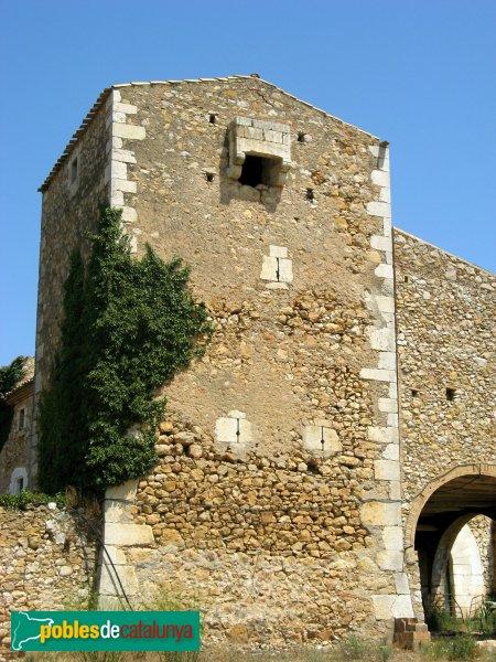 L'Escala - Mas Vilanera, torre