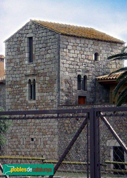 L'Escala - Cinclaus, torre del castell
