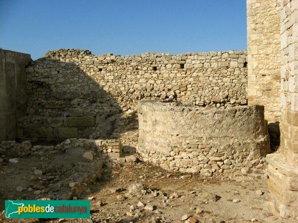 Sant Martí d'Empúries - Torre de la muralla alt-medieval