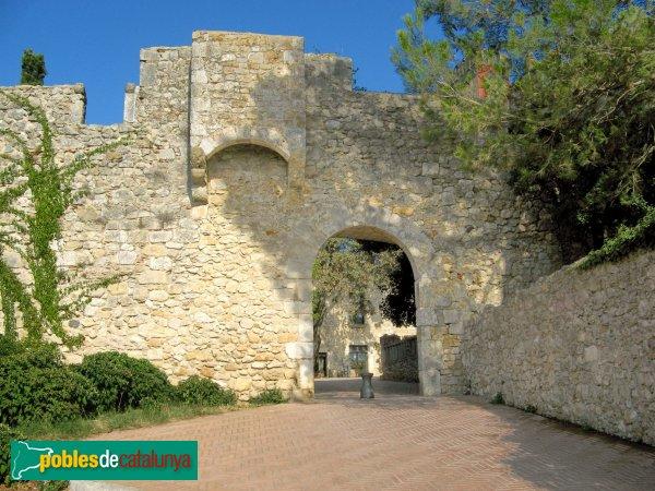 Sant Martí d'Empúries - Porta de la muralla
