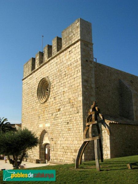 Sant Martí d'Empúries, església
