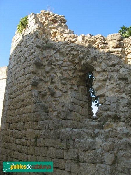 Sant Martí d'Empúries, restes del castell