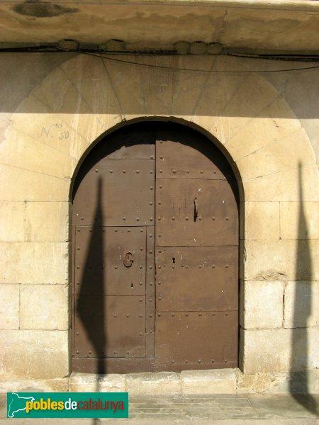 L'Armentera - Portal segle XVII