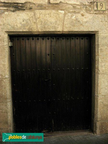 L'Armentera - Portal de can Moret, 1686