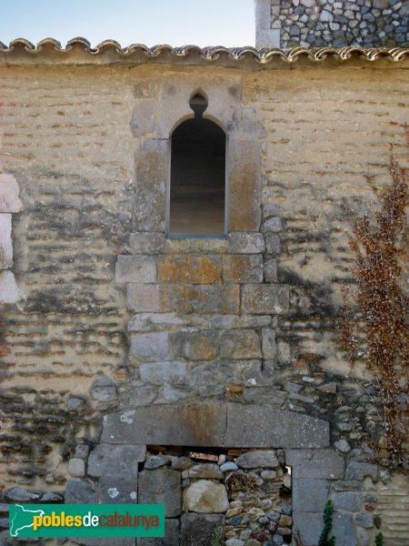 Vilamacolum - Can Granés, façana posterior