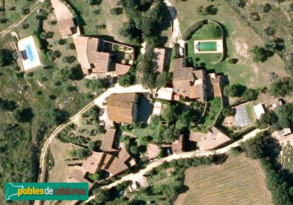 Viladamat - Palau Borrell, vista aèria
