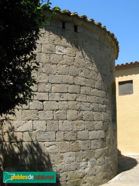 Torroella de Fluvià - Església de Sant Cebrià, absis