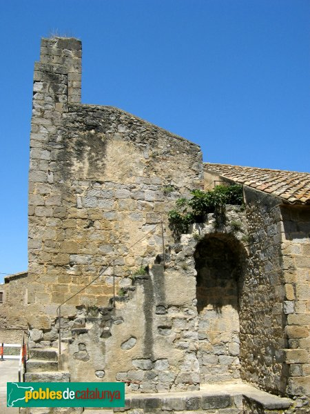 Torroella de Fluvià - Església de Sant Cebrià