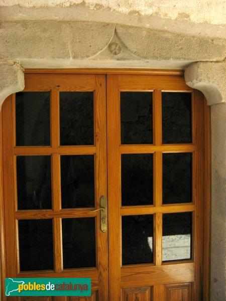 Torroella de Fluvià - Can Sopa, porta