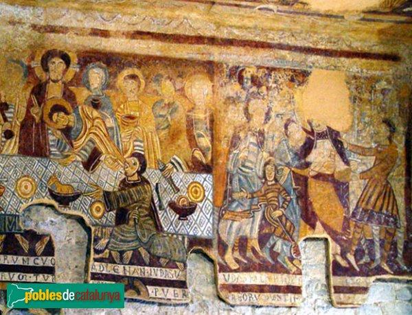 Torroella de Fluvià - Sant Tomàs de Fluvià, pintures romàniques