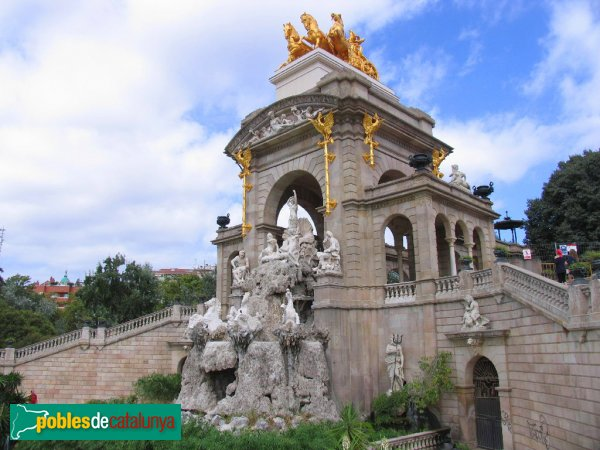 Barcelona - Parc de la Ciutadella - Cascada