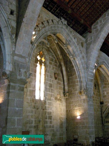 Montblanc - Església de Sant Miquel, capella lateral