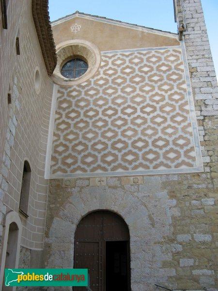 Montblanc - Convent de la M.D. de la Serra, façana lateral