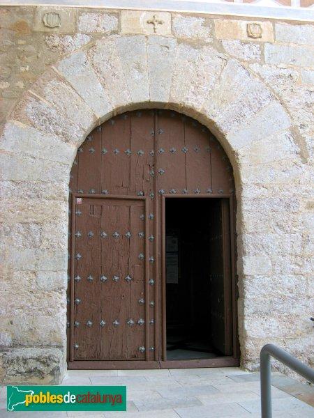 Montblanc - Convent de la M.D. de la Serra, porta lateral