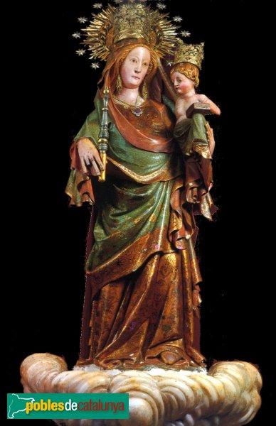 Montblanc - Convent de la M.D. de la Serra, talla gòtica