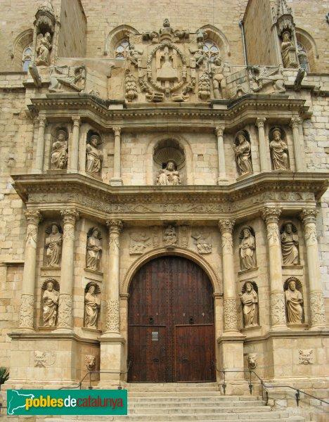 Montblanc- Santa Maria la Major, portada