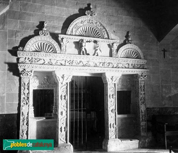 Montblanc - Convent de la M.D. de la Serra, retaule renaixentista
